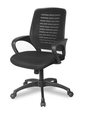 Hetal Enterprises HE10009 Black Office Chair
