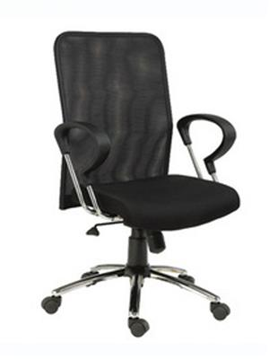 Hetal Enterprises HE10010 Black Office Chair