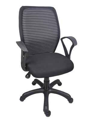 Hetal Enterprises HE10049 Black Office Chair