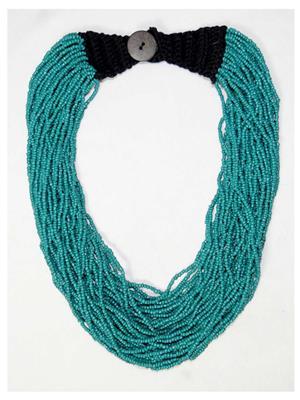 Tara Hfjw-284 Blue Women Necklace