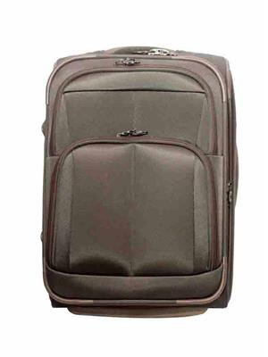 Swiss Traveller HKE2 Brown Polyester Trolleys Bags