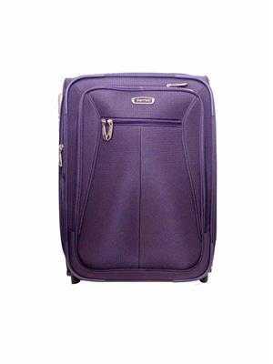 Swiss Traveller HKE5 Purple Polyester Trolleys Bags