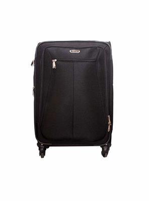 Swiss Traveller HKE8 Black Polyester Trolleys Bags