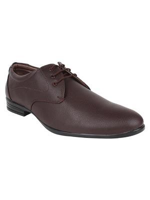 Hirolas HRL16032 Brown Men Formal Shoes