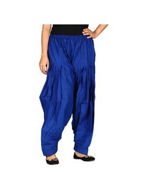 D Shape HSCNPT01 Blue Womens Patiyala