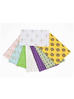 Todayin Hu1085 Multicolored Tissue Paper Set Of 50