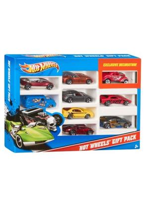 Hot Wheels HW3 Mattle Multicolored Car set of 9