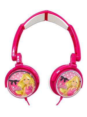 Barbie 1 Pink Headphone