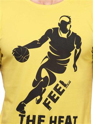 Insight Apparel INS10 Yellow Men T-Shirt