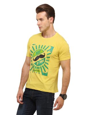 Insight Apparel INS9 Yellow Men T-Shirt