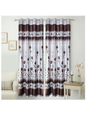 India Furnish IFCUR15031 Brown Curtain