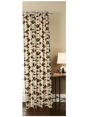 India Furnish IFCUR15057La Multicolor Curtain