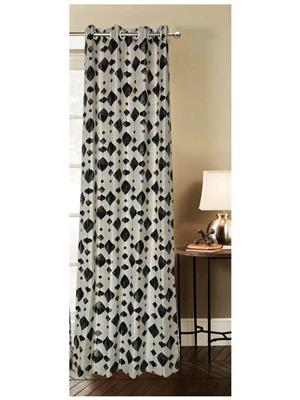 India Furnish IFCUR15059La Multicolor Curtain