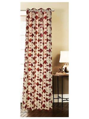India Furnish IFCUR15062a Multicolor Curtain
