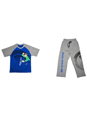 Fubu Iflw0312 Multicolored Boy T-Shirt-Lower Set Of Combo Pack