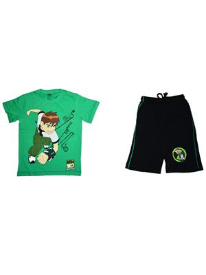 Fubu Iflw0341G Multicolored Boy T-Shirt-Short Set Of Combo Pack