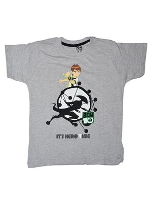 Fubu Ifts031Gr Grey Boy T-Shirt
