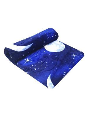 Indian Heritage 019 Blue Blanket