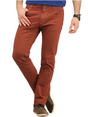 Integriti KI-3574-STR Brown Men Jeans