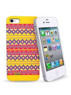 Kolorobia IP43DIKT11  Ikat IPhone 4 N 4S Cover