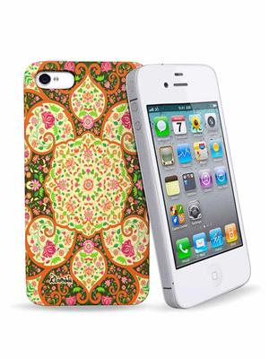Kolorobia IP43DMGD10  Mughal IPhone 4 N 4S Cover