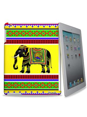 Kolorobia IPD3DEL03  Royal Elephant IPad Cover