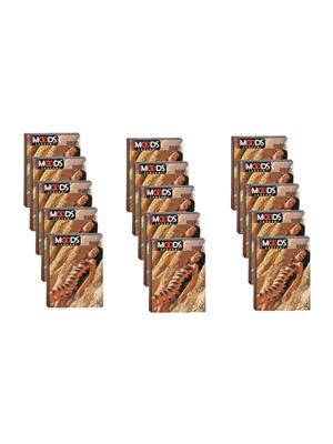 Moods J05020 Ribbed  Condom Picture pack Combo Pack Of  15