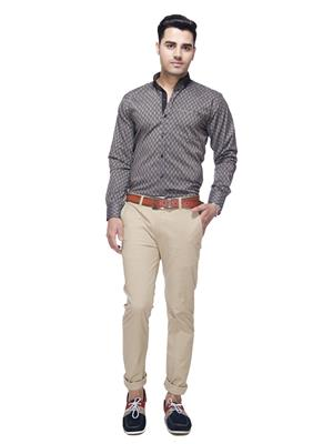 JADS 0081 Grey Men Casual Shirt