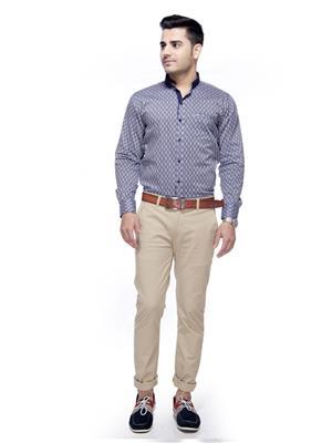 JADS 0082 Blue Men Casual Shirt
