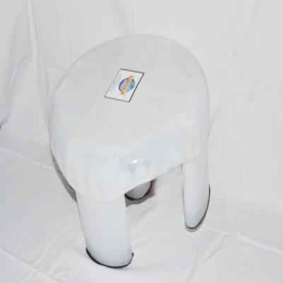 Donex Bathroom Stool _Clear_