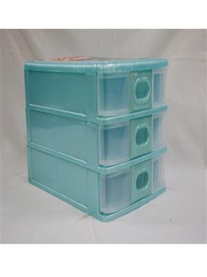 BPR BPR03 3 - Shelf Rack -Plastic