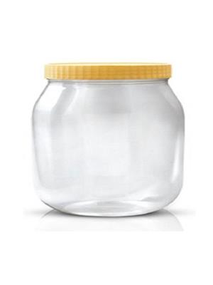 Sunpet  - 3000 ml Plastic Food Container -Pack of 6- Clear