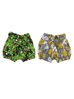 Pieces JG-07 Multicolored Girls Shorts Pack of 2