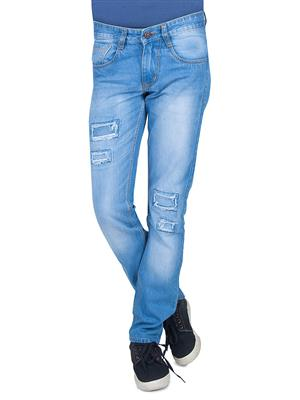JINJLR JJ-11LB Light Blue Men Jeans