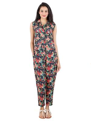 ShivabhiS Jmprnt01 Multicolored Women Jumpsuit