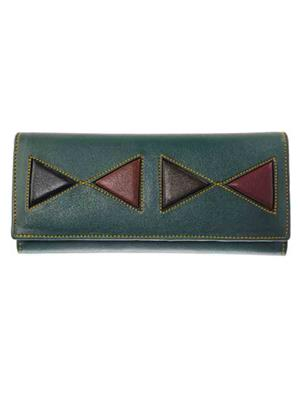 Lee Italian JP_BNS_LW002 Green Women Wallet