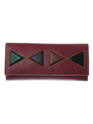 Lee Italian JP_BNS_LW002 Maroon Women Wallet