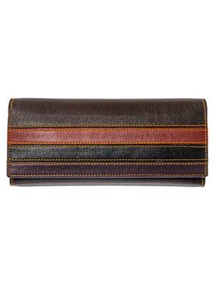 Lee Italian JP_BNS_LW003 Dark Brown Women Wallet