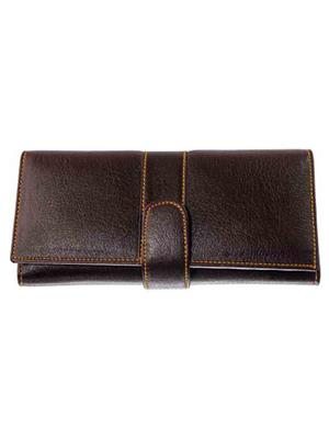 Lee Italian JP_BNS_LW004 Dark Brown Women Wallet