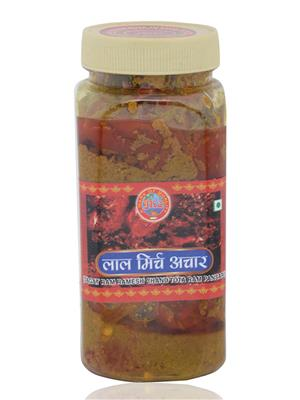 Jrc Spices 203 Vegetarian Red Chilli Pickle