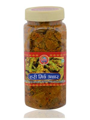 Jrc Spices 204 Vegetarian Green Chilli Pickle