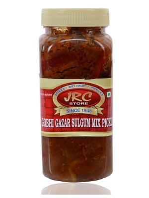 Jrc Spices 258 Vegetarian Gobi-Gajjar-Shalgam Pickle