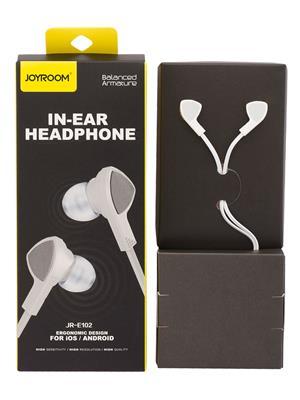 Joyroom Jrep101 White Earphone