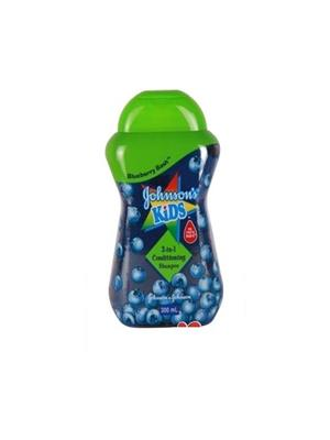 Johnsons Kids Blueberry Bash 2in1 Conditioning Shampoo-Malaysia (300 ml)