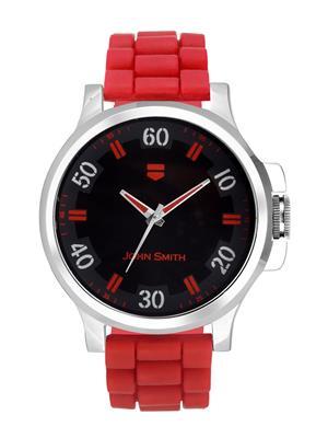 John Smith JS10101-R Black-Red Men Analog Watch