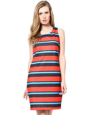 kaxiaa K-DR-31041A Red Women Dress