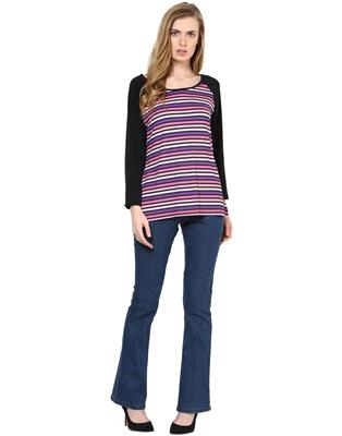 Kaxiaa K-TO-21002C Multicolored Women Top