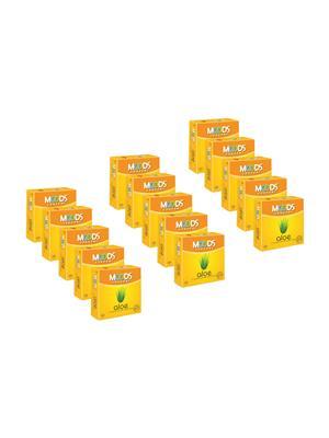 Moods K01Al011 Aloe  Condom Combo Pack Of  15
