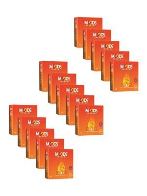 Moods K01WL003 Blaze  Condom Combo Pack Of  15
