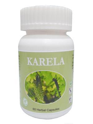 Hawaiian-Herbal Kc72 Karela Capsule Ayurvedic & Organic
